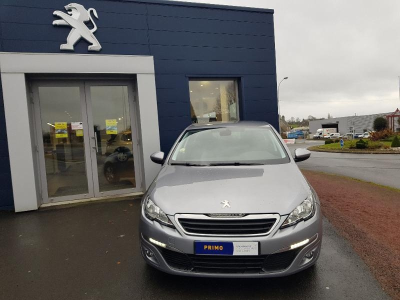 Peugeot 308 1.6 BlueHDi 120ch Active Business S&S EAT6 5p Diesel Gris Clair Métal Occasion à vendre