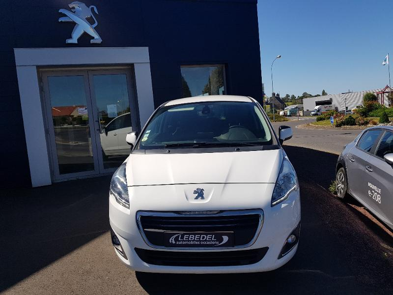 Peugeot 5008 1.6 BlueHDi 120ch Active Business S&S Diesel BLANC Occasion à vendre