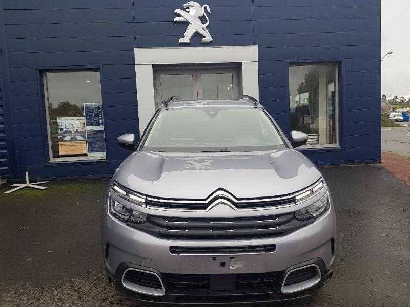 Citroen C5 Aircross BlueHDi 130ch S&S Feel EAT8 Diesel Gris Clair Métal Occasion à vendre