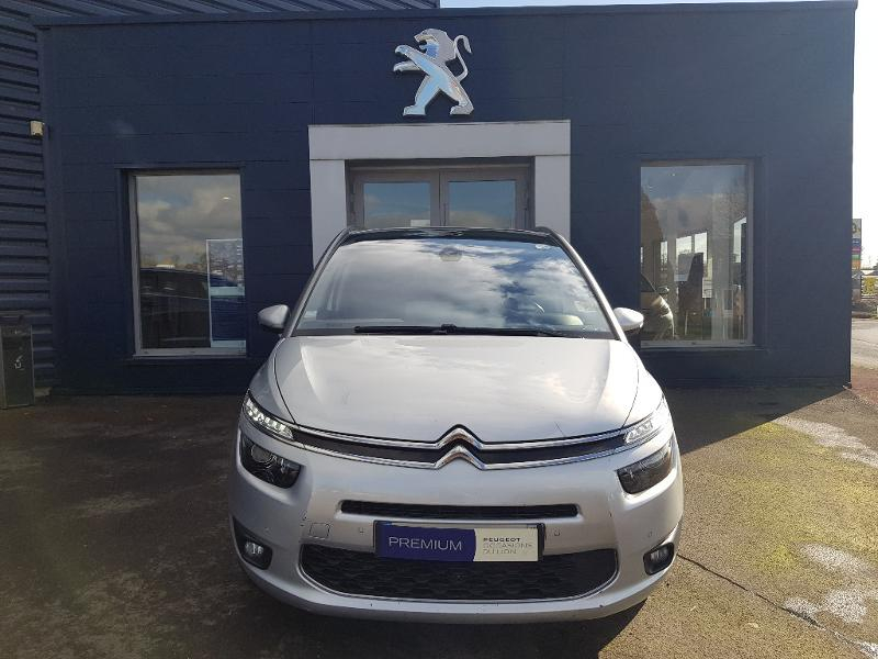 Citroen Grand C4 Picasso BlueHDi 150ch Exclusive S&S EAT6 Diesel Gris Clair Métal Occasion à vendre